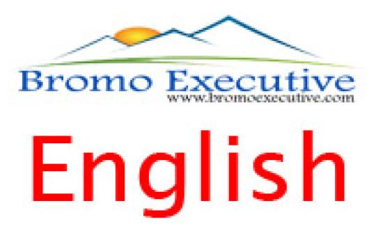 Bromo Executive Inggris